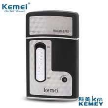 KM-1712 best quality product KEMEI Men's Shaver trip Rechargeable Electric Shaver electric razor for men Beard Trimmer Euro plug