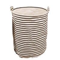Round Laundry Hamper Bag Clothes Storage Baskets Home Clothes Barrel Bags Kids Toy Storage Laundry Basket
