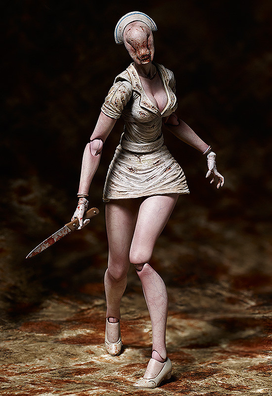 *NEW* Silent Hill 2: Bubble Head Nurse Figma #SP-061 Action Figure by FREEing No Original Box