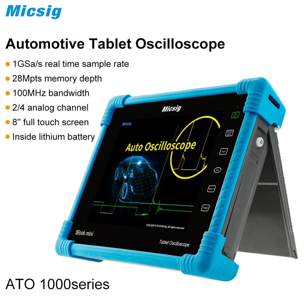 Micsig automotive oscilloscope handheld portable ignition oscilloscope auto oscilloscope 100Mhz 4CH 2CH new arrival Micsig automotive oscilloscope handheld portable ignition oscilloscope auto oscilloscope 100Mhz 4CH 2CH new arrival