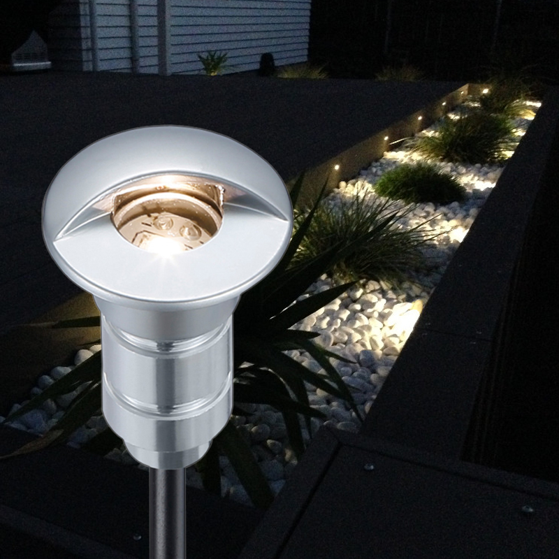 fvtled led deck step light waterproof ip65 recessed stair lamp paitio inground spotlight garden. Black Bedroom Furniture Sets. Home Design Ideas