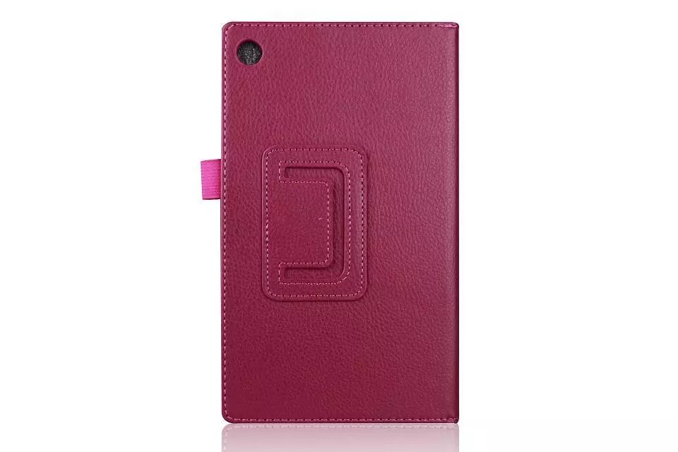 Ultra Slim Litchi 2-Folding Folio Stand PU Leather Skin Protective Cover Case For ASUS MeMO Pad 7 ME572 ME572C ME572CL Tablet цена