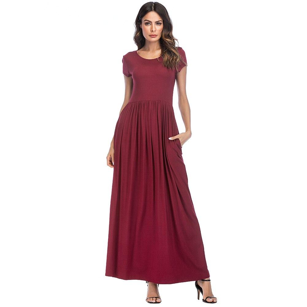 Summer maxi dresses for short ladies
