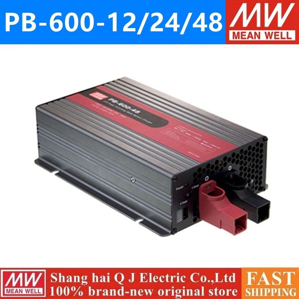 MEAN WELL PB-360P 360N 12 24 48 meanwell PB-360P 360N-12 24 48 V 360 W Simple Sortie Chargeur De Batterie