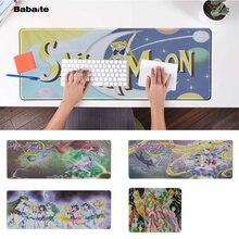 Babaite Simple Design Sailor Moon Laptop Computer Mousepad Rubber PC Gaming mousepad