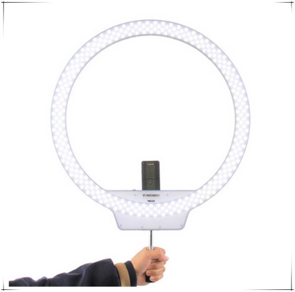 YONGNUO YN308 LED Video Light Ring Light 5500K Adjustable Brightness CRI95+ Video Light With Remote Controller For Canon Nikon