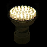 ICOCO 5 x 48 LED GU10 Light Bulbs Warm White Lamps Energy Saving Spotlight