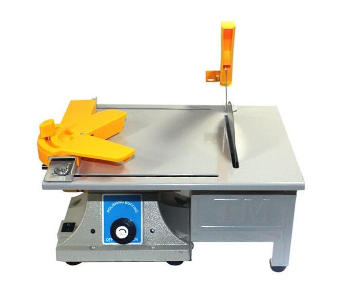 Multifunctional Mini Bench Lathe Machine Electric Grinder / Polisher / Drill / Saw Tool 350w 10000 R/Min