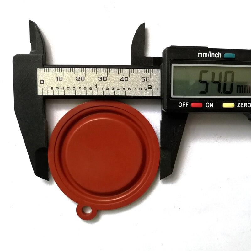 50 PCS OD 54mm Wasser Gas Verknüpfung Ventil Gas wasser heizung Roten Druck Membran Zubehör