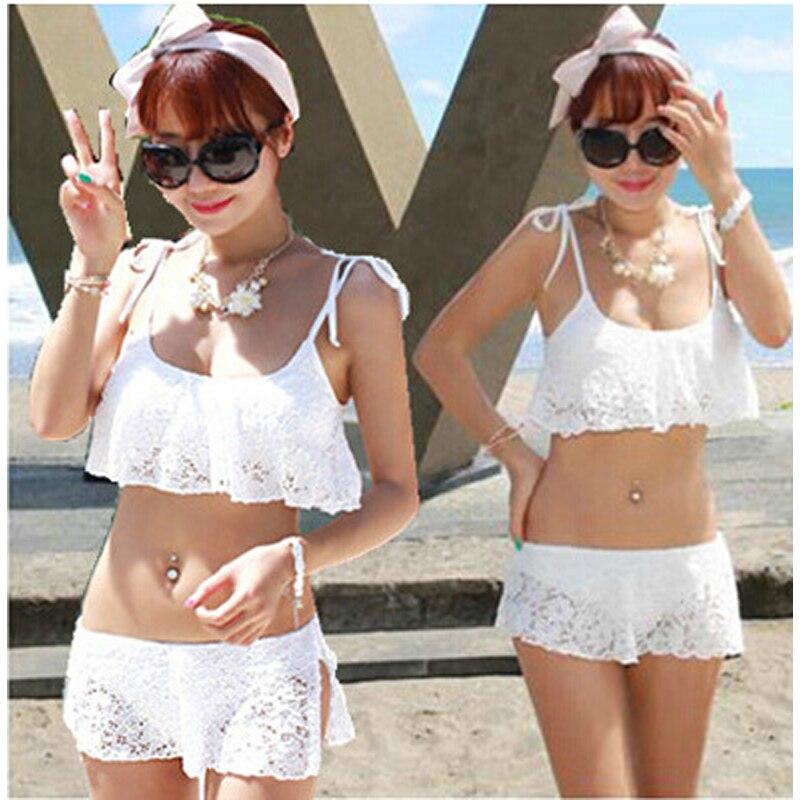2017 nuovo stile di estate strappy bikinis bikini pizzo t019 costumi da bagno moda praia biquinis