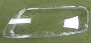 Image 4 - 2 pcs 헤드 램프 플라스틱 쉘 전등 갓 헤드 라이트 커버 유리 헤드 램프 쉘 렌즈 06 11 아우디 a6 a6l c6