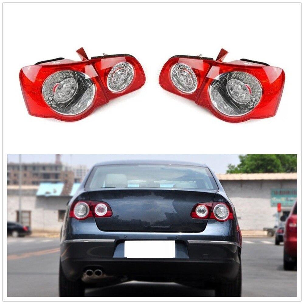 Volkswagen Caddy 2010-2015 Rear Light Lamp Red Twin Door Type Passenger Side New