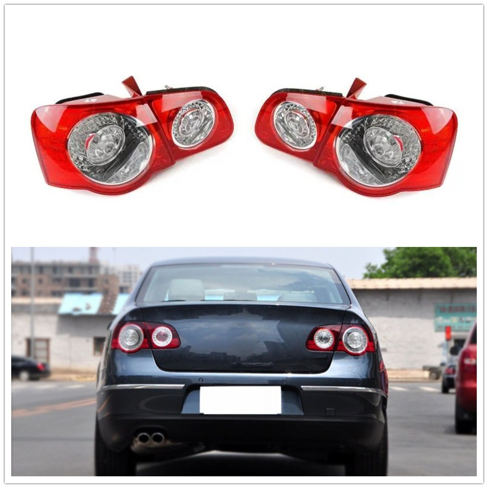 For VW CC Pair Set of Left /& Right Outer Tail Lights OEM Automotive Lighting