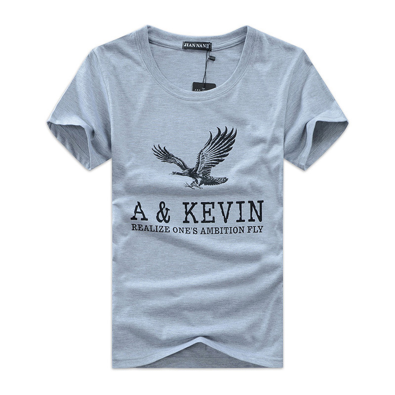 ASALI 2019 Spring And Summer Casual Fashion New Products Mens T Shirts Print O-Neck Short Funny T Shirts JN01