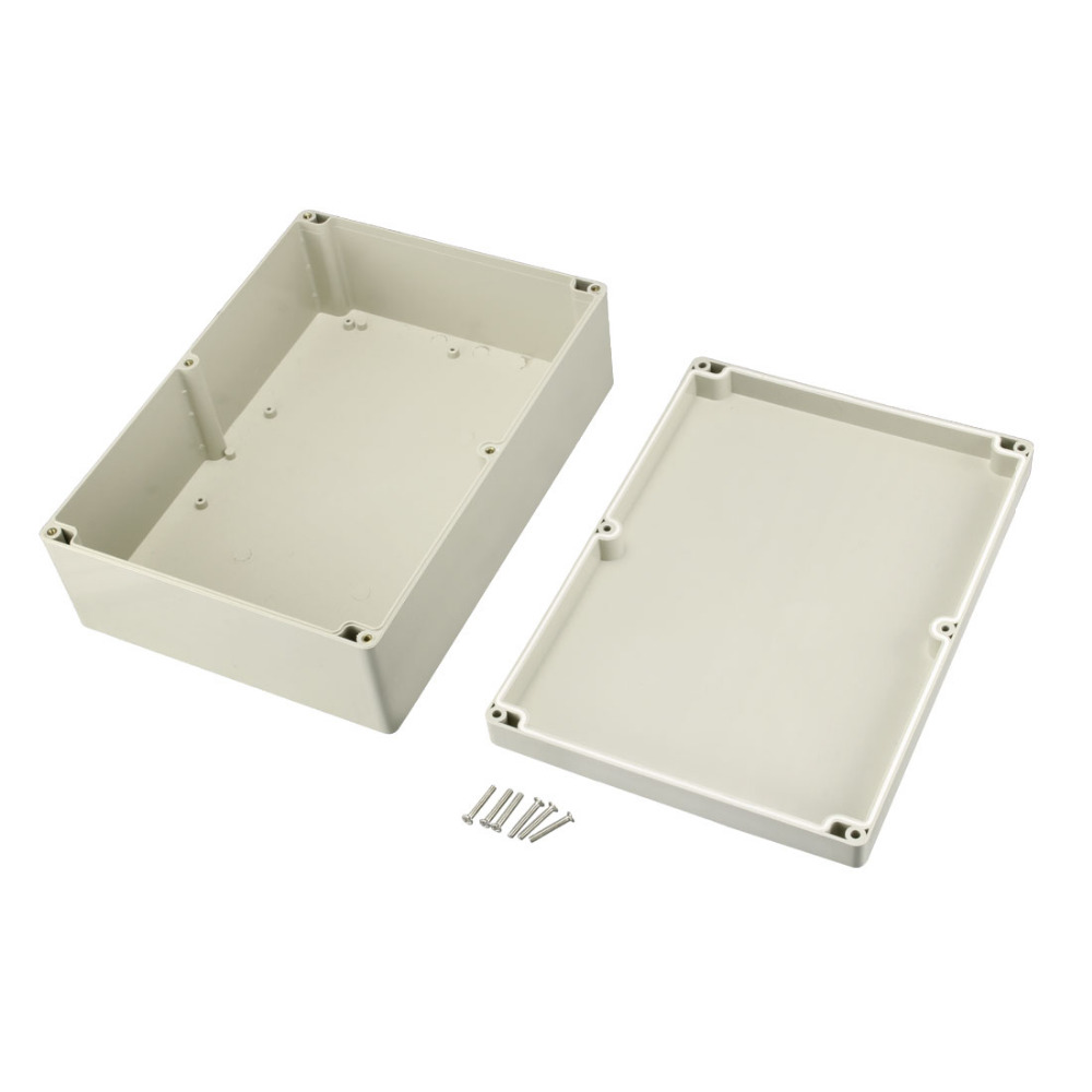 New Arrival 290x210x100mm Electronic ABS Housing DIY Junction Box Outdoor Waterproof Electrical Connection Box Enclosure Case 1pcs universal waterproof abs plastic 318x236x155mm junction box project enclosure diy outdoor electrical connection cable box