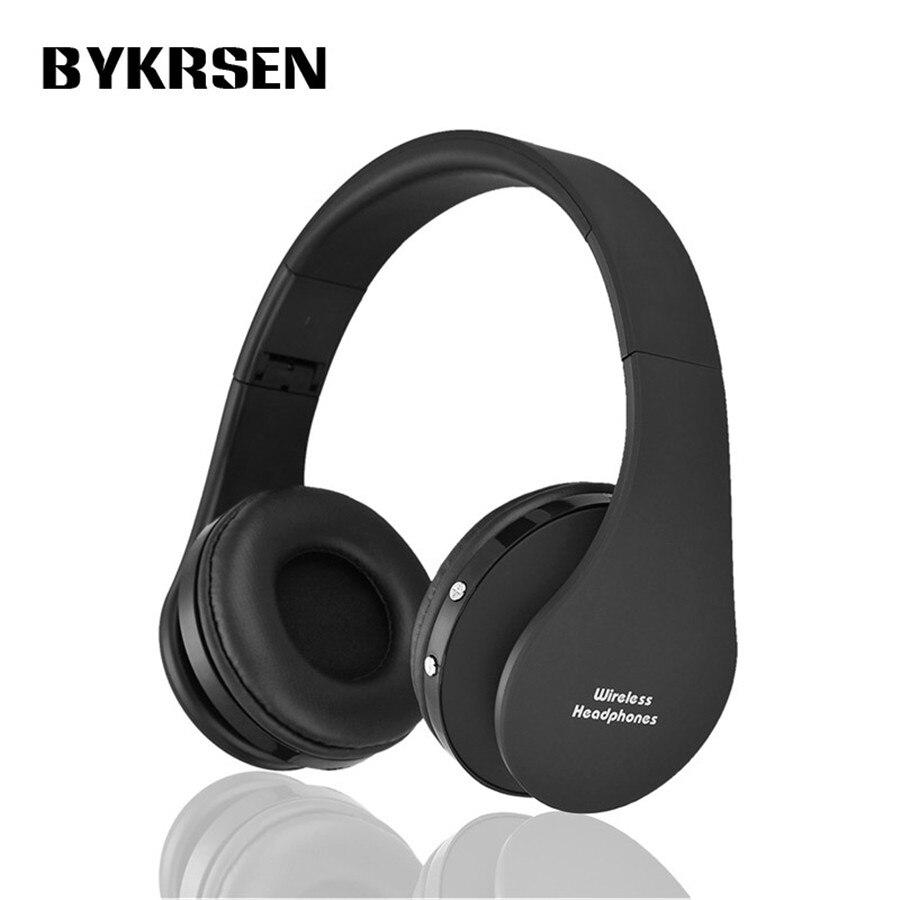 bilder für 2017 BYKRSEN drahtlose kopfhörer stereo headset bluetooth kopfhörer über das ohr kopfhörer für Iphone Sony Samsung Handy