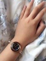 Delicate Cute Girls Slim Bracelet Watches Blingbling Crystals Women Summer Dress Wrist Watch Quartz Relogios Montre