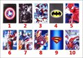 Cartoon Stand tablet case cover for samsung GALAXY Tab A 9.7 T555 T550  Spider-Man Captain America The Avengers Iron Man Batman