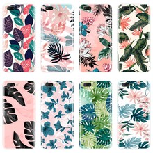 Leaves Flower Phone Case For One Plus 6 6T 5 5T 3 3T Soft Silicone Back Cover For OnePlus 6 6T 5 5T 3 3T Case Coque(China)