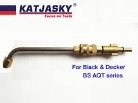 Bent nozzle fit black decker/BS AQT wassen gun voor wassen airconditioning gebogen 60 graden hogedrukreiniging