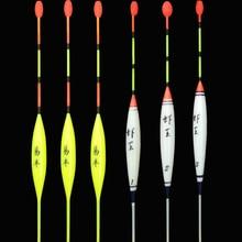 """3 sztuk/partia małe Fishing Float Bobber boja pływająca typu """" Float """"do połowów drewna Balsa materiał Boyas De Pescar przynęty wędkarskie narzędzia"""