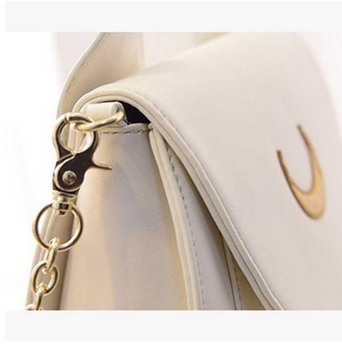 2018 Новый Школьные ранцы для подростков Обувь для девочек бренд мешок DOS Femme Сейлор Мун черный кожаный рюкзак Для женщин плеча рюкзак