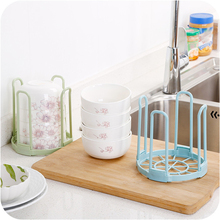 Pinkycolor Kitchen Placement tool Bowls and chopsticks Storage rack Restaurant Storage tools