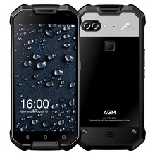 Original AGM X2 4G Smartphone Android 7.1 5.5 Inch Qualcomm Snapdragon 653 Octa Core 1.95GHz 6GB+64GB Dual 12.0MP Rear Cams