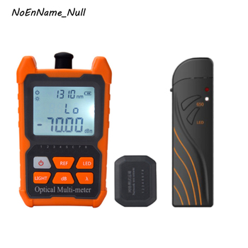 8 Wavelengths Optical Multi-meter built in Fiber Optic power meter and Network cable tester, 15mW 20mW 30mW Visual Fault Locator