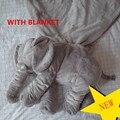 Actualizado Elefante Bebé Super Suave almohada Muñeca Calma Cusion Asiento de Niños de Juguete Cama de Bebé Cuna Portátil Cama Sala de juego de Cama