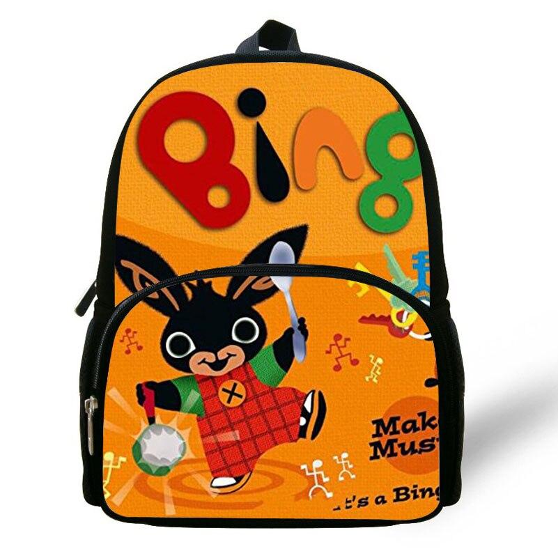 Cute Cartoon Bing Bunny Print Children School Bags For S Boys Bookbag Best Gift Bag Kindergarten Rabbit Backpack Baby Kids