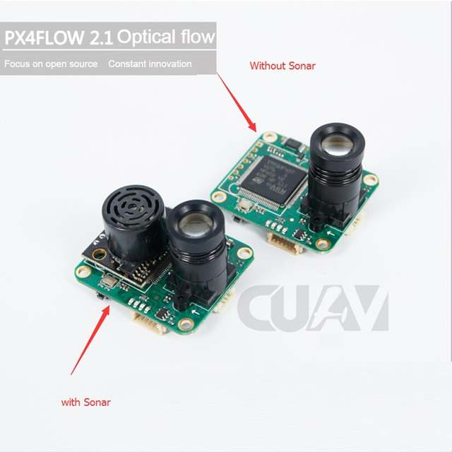 US $62 9 |CUAV PX4FLOW 2 21 Optical Flow Sensor Smart Camera for PX4  PIXHAWK Flight Control-in Parts & Accessories from Toys & Hobbies on