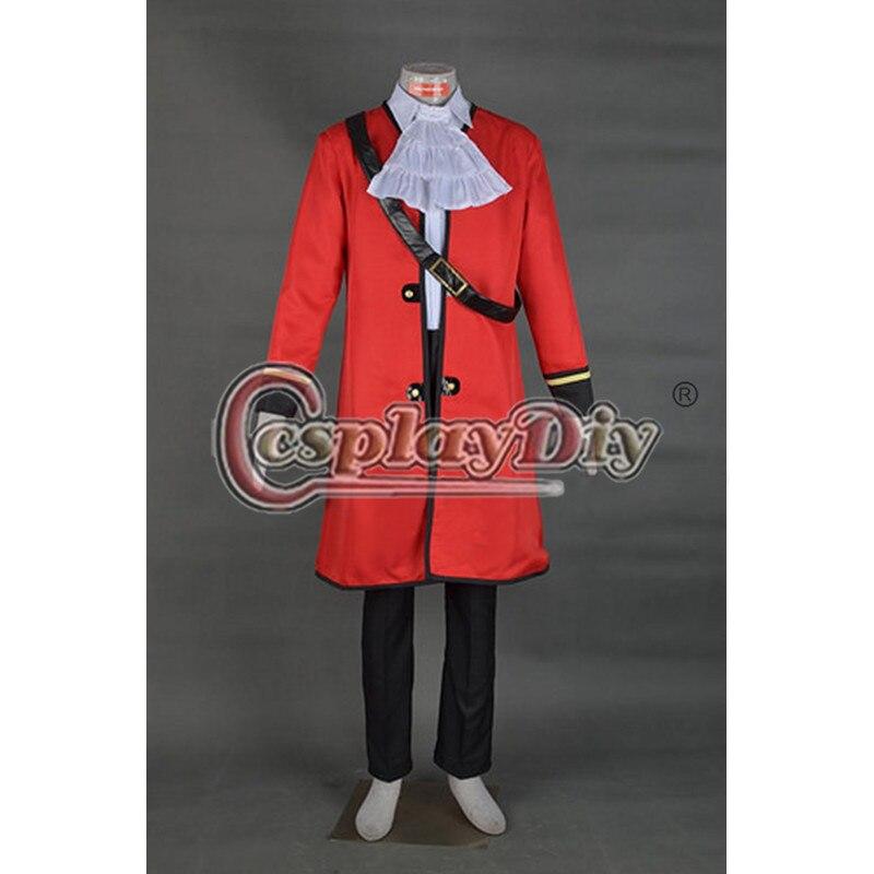 Cosplaydiy Captain Hook Cosplay Costume Adult Men