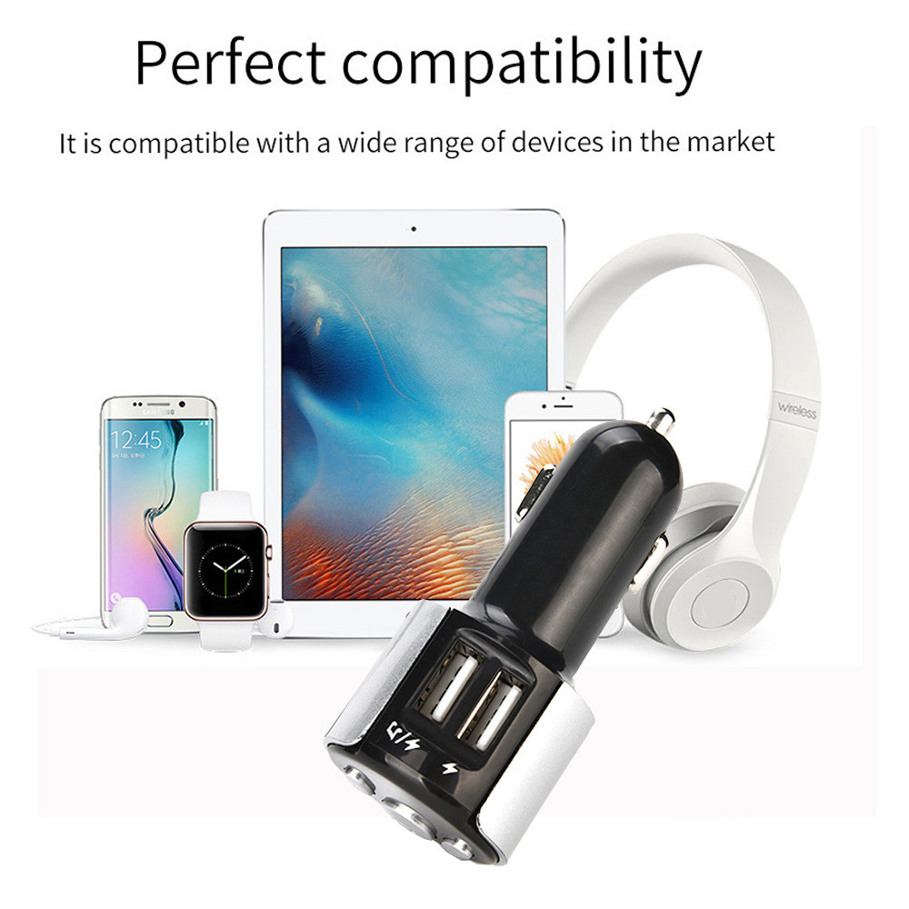 2018 Bluetooth FM Transmitter MP3 Player USB Flash Drive Car SD AUX Handsfree DE Car-styling