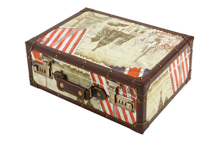 Universal wheel rolling suitcase luggage restoring ancient ways of England Men and women lovers boarding box luggage suitcase