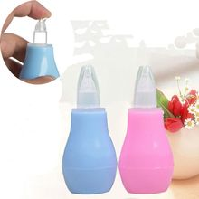 New Born Silicone Baby Safety Nose Cleaner Vacuum Suction Children Nasal Aspirator New Baby Care Diagnostic Tool Vacuum Sucker