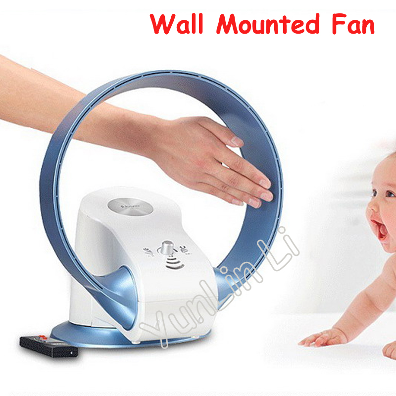 Wall Mounted Electric Fan 110V/220V Table No Leaf Air Purification Bladeless Fans SKJ-CR305WD (upgraded version)