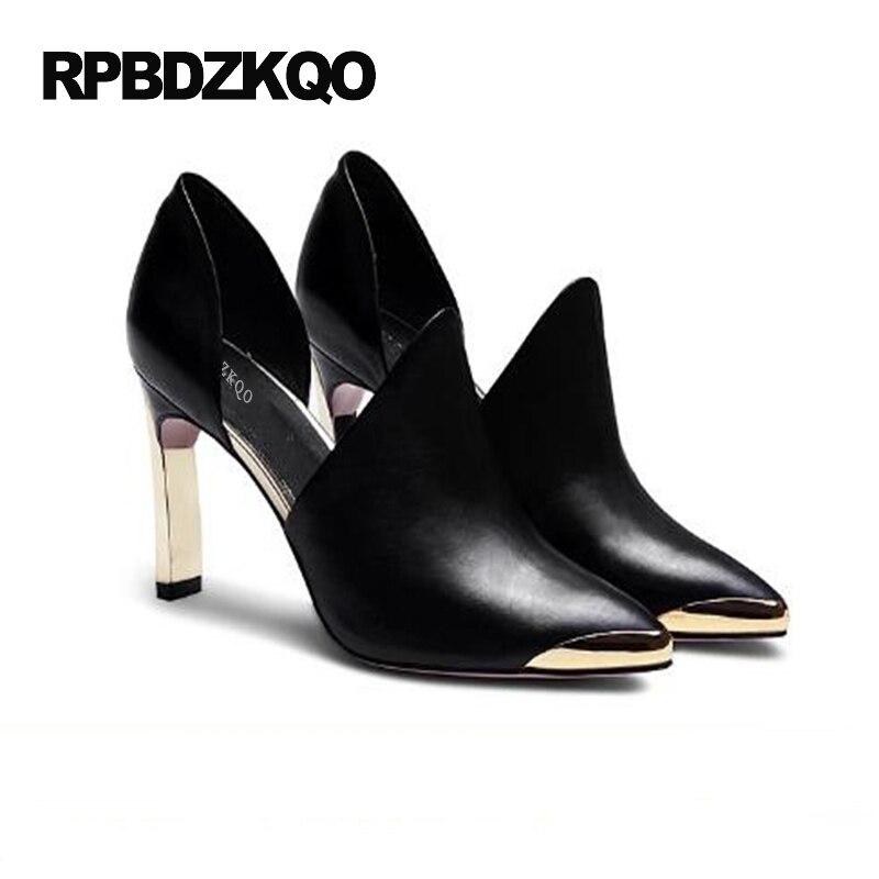 a0babb19da3c 7cm Femmes Partie 33 Chic Noir Stiletto white Taille Rouge Haute red Pompes  Petit Chaussures 9cm black Bout Automne Chinois Soirée Pointu 2017 De Talons  4 ...