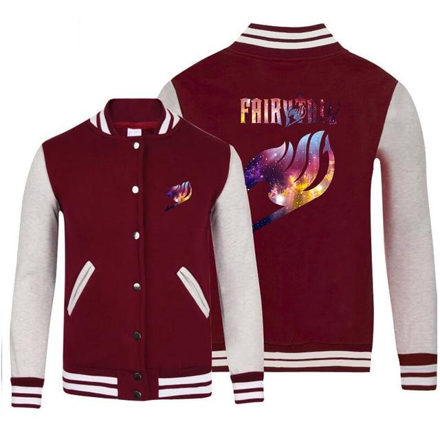 Fairy Tail Baseball Sweatshirt Jacket