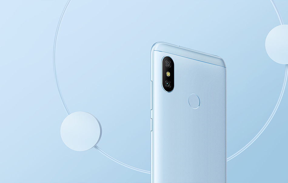"""In Stock! Global Version Xiaomi Mi A2 Lite 4GB 64GB Mobile Phone 5.84"""" Full Screen Snapdragon 625 AI Dual Cameras Android 8.1 CE 9"""