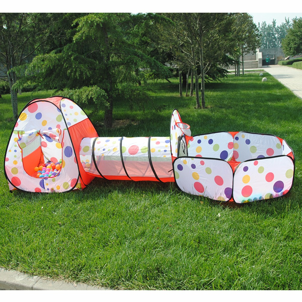 large 3m toy baby tents kids crawling tunnel play tent. Black Bedroom Furniture Sets. Home Design Ideas
