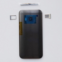 New Aluminum Battery Housing Back Door Replacement For HTC One M9 Case With Top Cover Sim