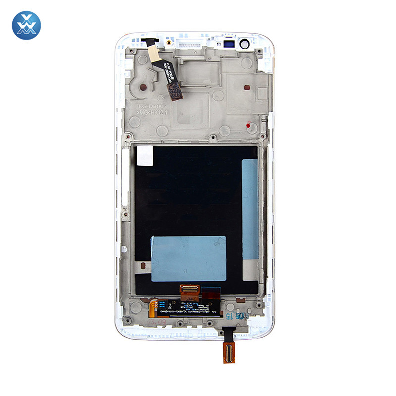 for LG G2 D806 802 White LCD Touch Screen & Digitizer Display Assembly with Frame & Full Repair Toolkit (4)