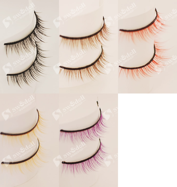 1/3.1/4.1/8.1/12 doll Accessories for BJD/SD .BJD Eyelashes for doll .not include doll and other accessories uncle 1 3 1 4 1 6 doll accessories for bjd sd bjd eyelashes for doll 1 pair tx 03