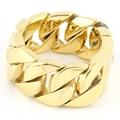 bracelets for men Newest high quality bracelets Men's Large Heavy Stainless Steel Bracelet Link Wrist Gold Biker Polished