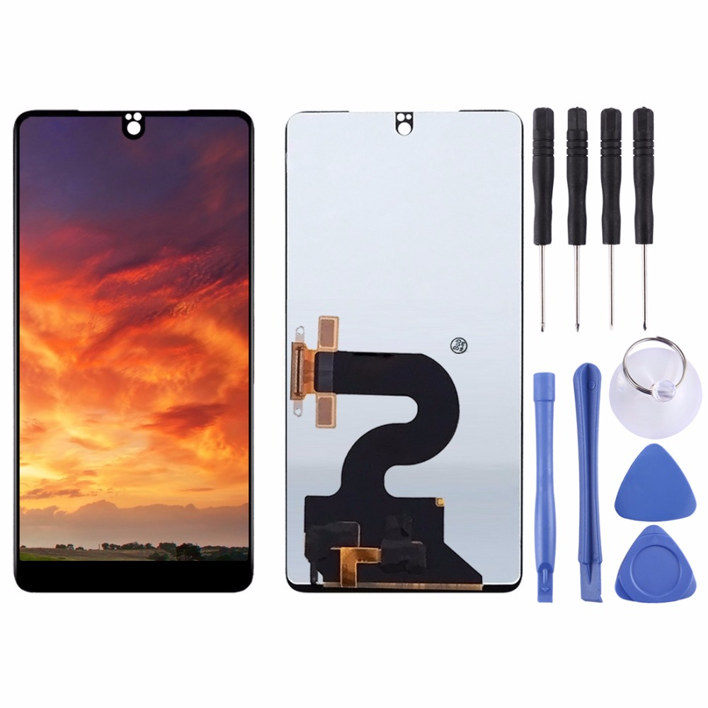 LCD Screen and Digitizer Full Assembly for Essential Phone PH-1 (Black)LCD Screen and Digitizer Full Assembly for Essential Phone PH-1 (Black)