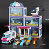 Lepin 01039 Friends Girl Series 932pcs Building Blocks Toys Heartlake Hospital Kids Bricks Toy Girl Gifts