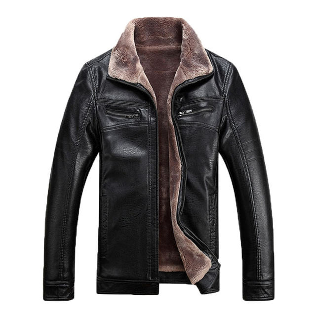 2015 New arrival Fur fluff leather design jackets men men's leather jacket jaqueta de couro masculina mens leather jackets 228