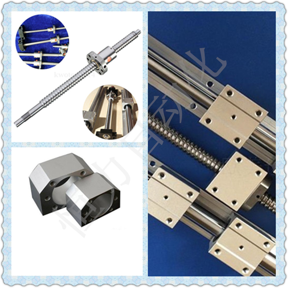 3 SBR20 -300/600/1000MM Linear rail support sets+3 Ballscrews RM1605 +3 BK12/ BF12 +3 coupling+ 1set Spindle Motor 1.5kW cnc монитор 19 hp v196 черный tft tn 1366x768 200 cd m^2 5 ms dvi vga