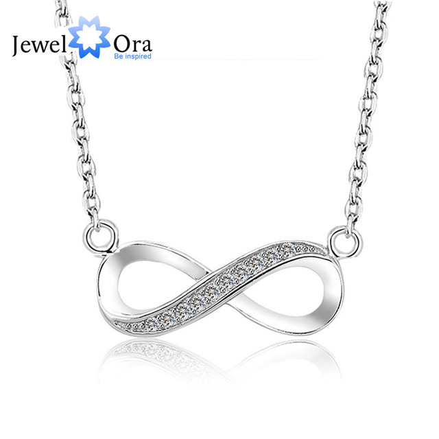 Brand 8 shaped necklaces pendants women jewelry infinity 925 brand 8 shaped necklaces pendants women jewelry infinity 925 sterling silver necklace engagement gift aloadofball